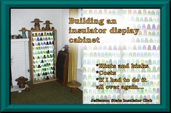 Jsic Insulator Display Cabinet