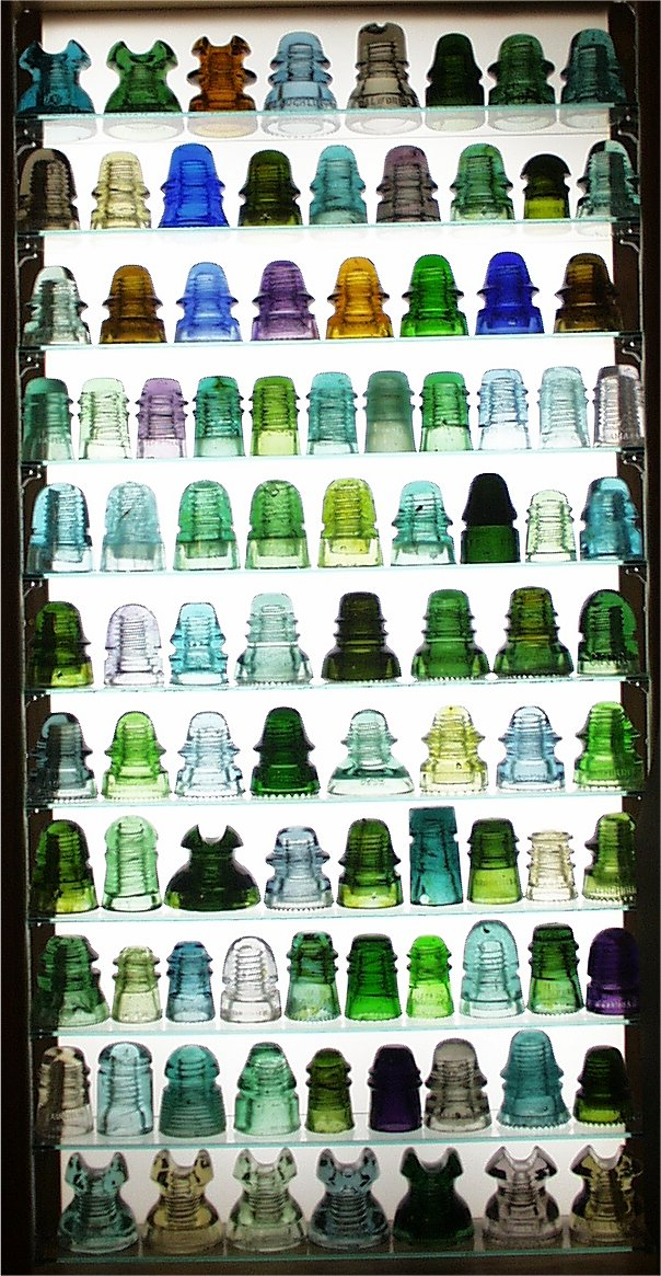 Jsic Insulator Display Cabinet