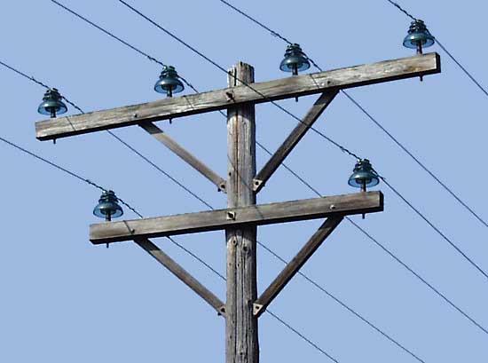 No 0 provo 39 s in pennsylvania for Power line insulators glass